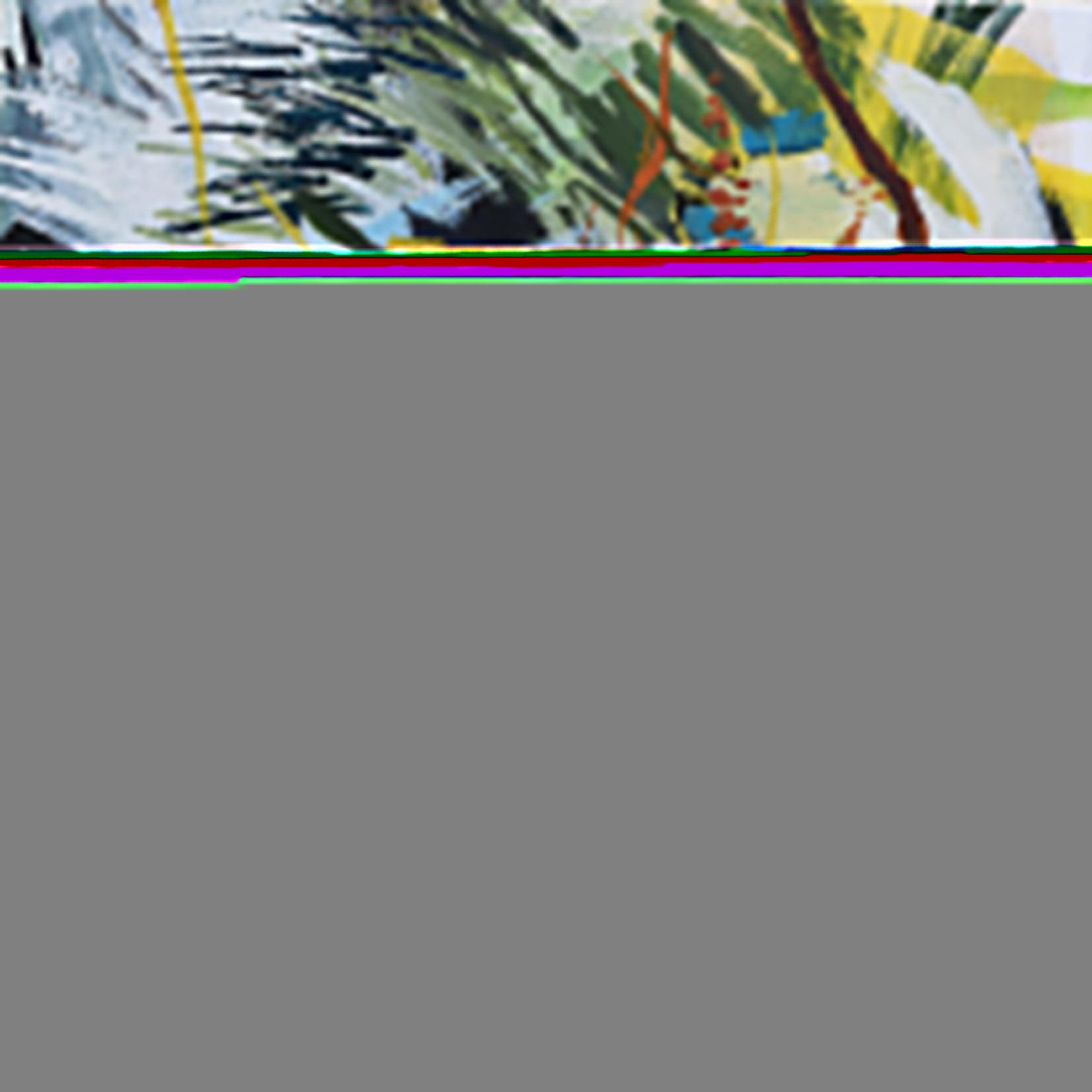 A la croisée, acrylique sur toile, 80x80cm